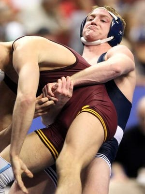 Andrew Long, seen here during his time with Penn State, was dismissed by Grand View Monday.