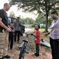 Homeland Park leaders pitch in to buy 5-year-old new bike after his was stolen
