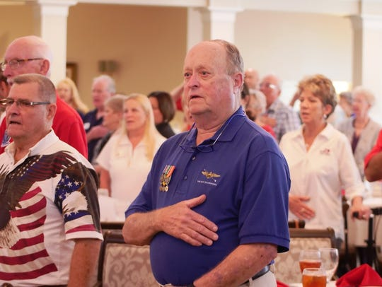More than 100 area veterans and their families attended