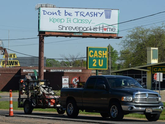 The City of Shreveport has made efforts to reduce litter