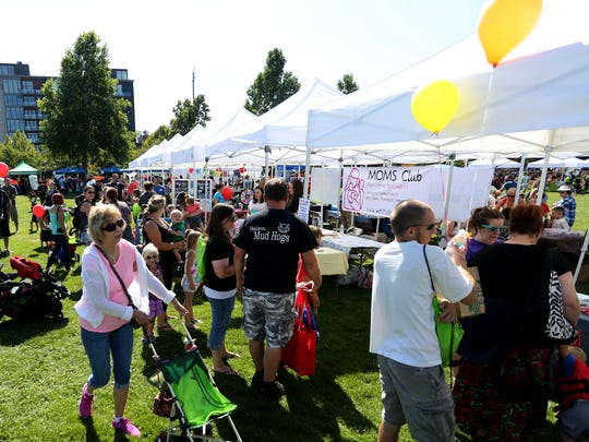 The Family Building Blocks Family Fest at Riverfront Park in Salem on Saturday, Aug. 6, 2016.