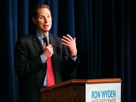 Sen. Ron Wyden.