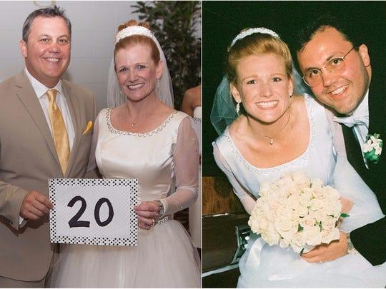 Craig and Charlene Couillard renewed their wedding