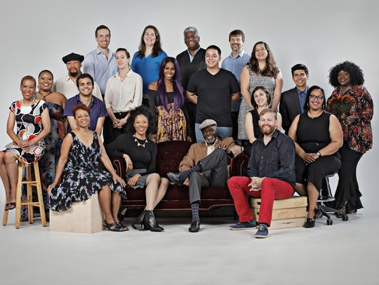 The 2018  Kresge  Artist  Fellows: (All left to right)