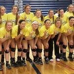 The Novi volleyball team upended Temperance Bedford to win the Saline Invitational title Saturday.