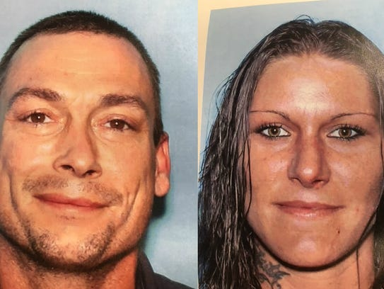 Rex Cochran, 39, and Heather Cochran, 31, are wanted