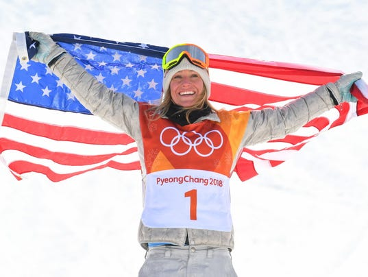 USP OLYMPICS: SNOWBOARD-WOMENS SLOPESTYLE FINAL S OLY KOR