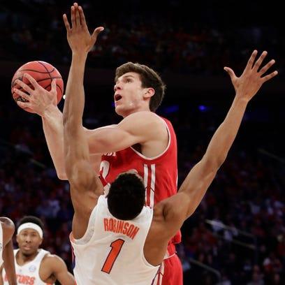 Ethan Happ and the UW men's basketball team will open