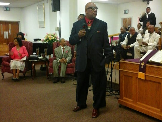 Ricky Hudson, 56, was a trustee at Mount Vernon Community Missionary Baptist Church in Indianapolis.
