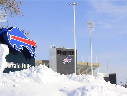 Buffalo Bills snow