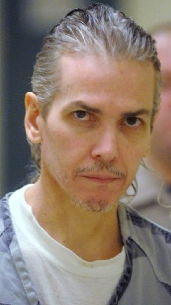 Death row inmate Rodney Berget.
