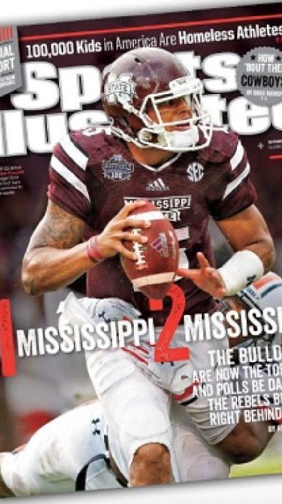 Dak Prescott appeared on the cover of Sports Illustrated