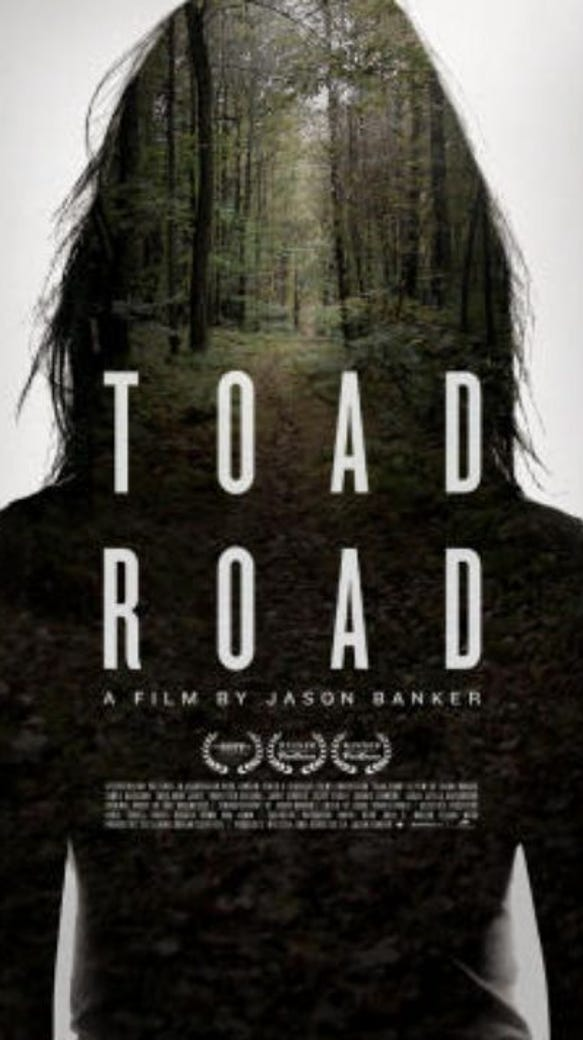 "This is the artwork associated with the film ""Toad"