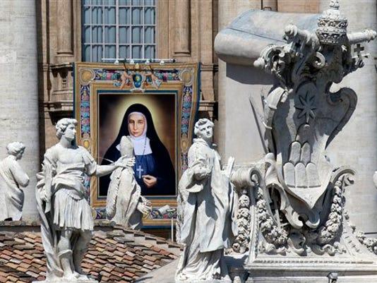 APTOPIX Vatican Palestinians