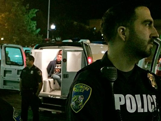 APTOPIX Baltimore Police Commissioner Protests