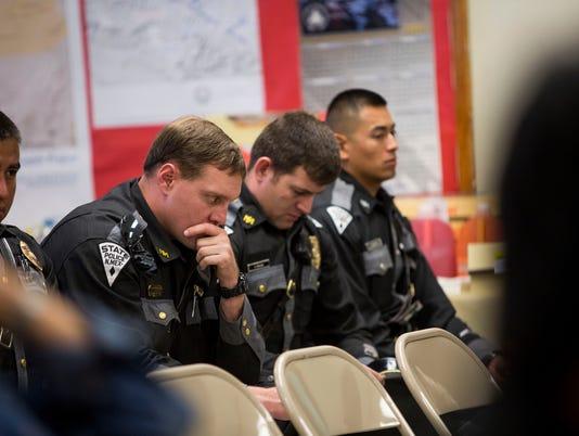 Slain Navajo Officer Alex Yazzie remembered