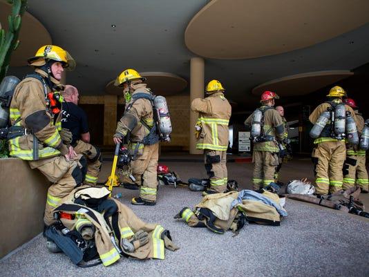 Phoenix firefighters