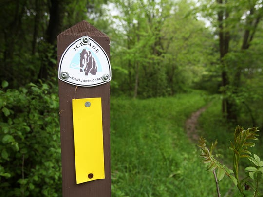 The Ice Age Trail travels more than 31 miles through the length of the Kettle Moraine State Forest-Northern Unit