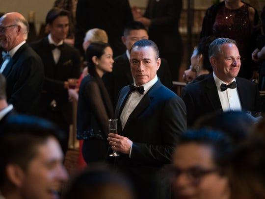 "Jean-Claude Van Damme plays ""himself,"" apparently using"
