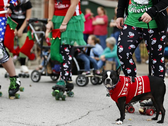 Springfield's Christmas parade is Dec. 9 in the downtown area.