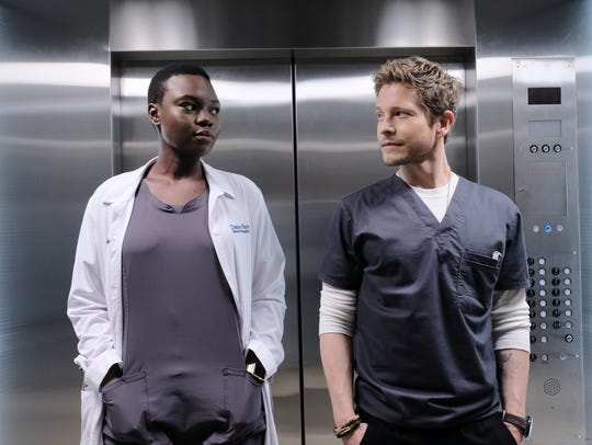 Shaunette RenŽe Wilson and Matt Czuchry are navigating between medicine and workplace politics at their hospital.