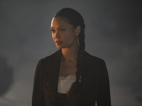 Thandie Newton plays Maeve Millay, a host on a search