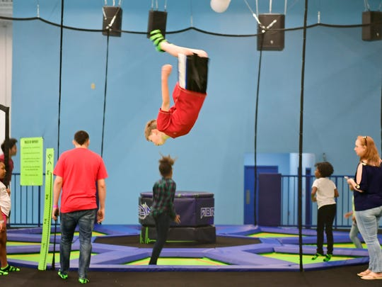 Adrenaline Entertainment Center is an indoor trampoline park located at 2150 White Street in York.