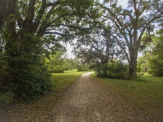 The Miccosukee Greenway park spans 6.5 miles encompassed