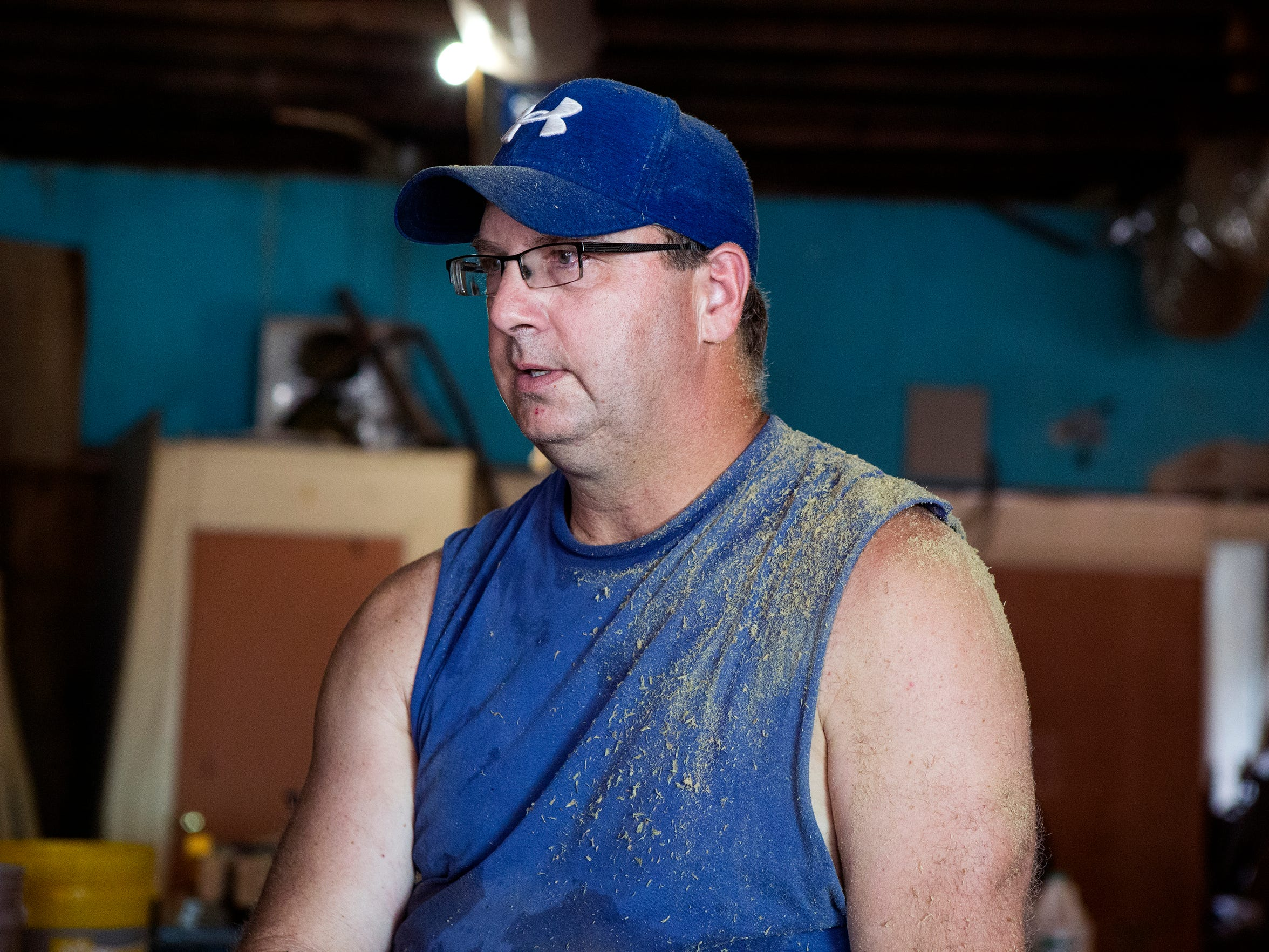 James Andrew's business, South Texas Creations, is located in downtown Aransas Pass, an area that could potentially impacted by flood plain designation changes. He said, Monday, June, 25, 2018, that he owns other properties and wasn't sure what impact that would have on his plans to build a shop for his business. The levee in Aransas Pass can't been certified, which could lead to higher flood insurance rates.