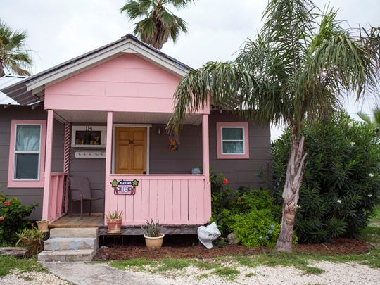 Angler's Court was originally purchased by Flora Caylor Buerger's grandparents in 1950 and has been in her family ever since. There were originally 21 cottages. This cottage is a highly sought-after Airbnb in Port Aransas.