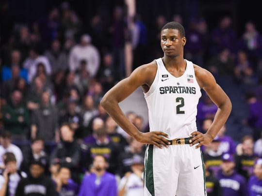 Jaren Jackson Jr. spent one season at Michigan State before declaring for the draft.