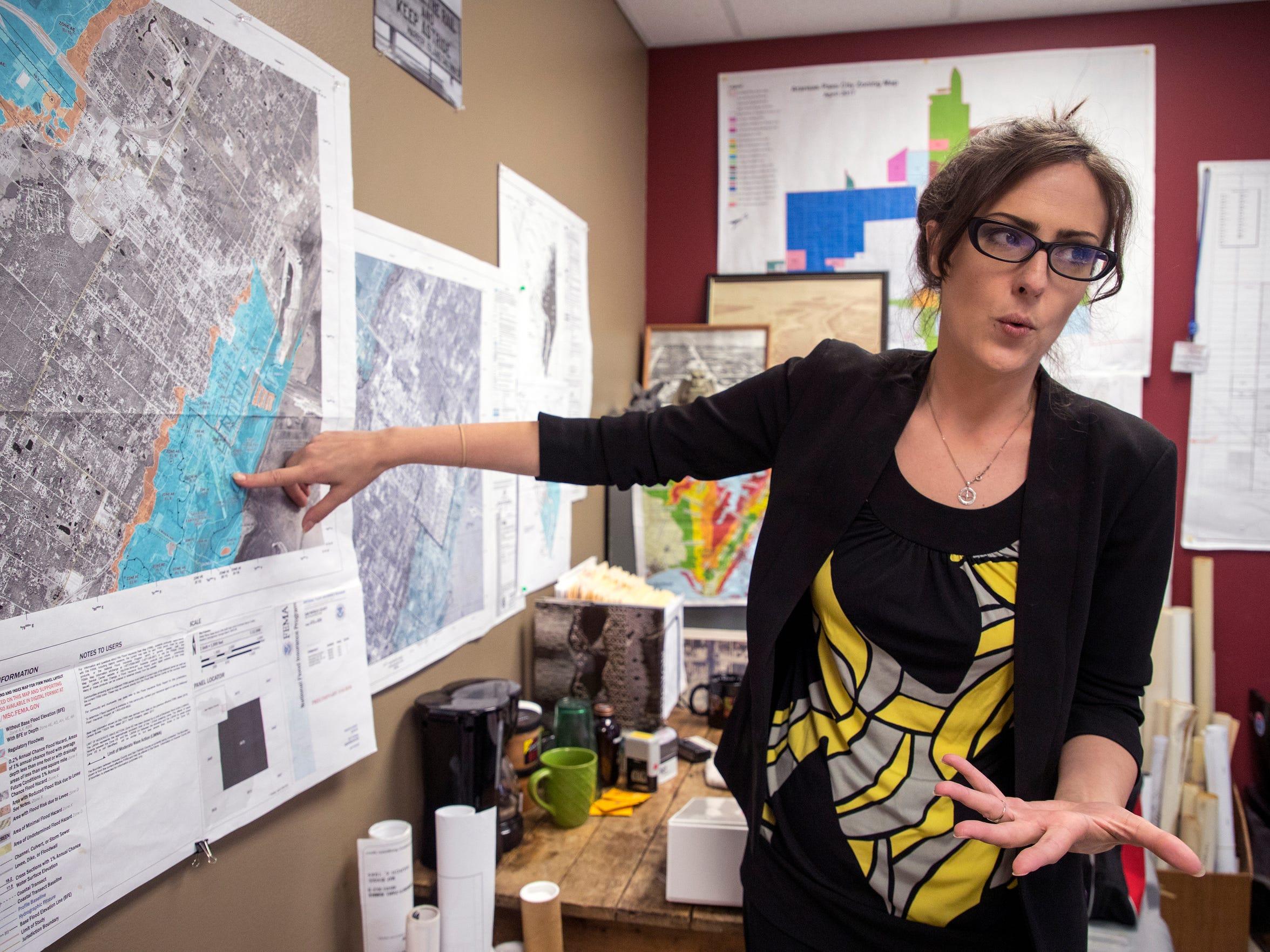 Kat Comeaux, superintendent of development services