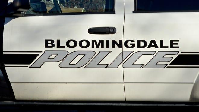 A Bloomingdale police car.