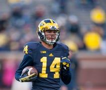Former Michigan receiver Drake Harris —yes, forme...