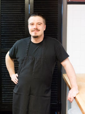 Chef Alexander Delaney at La Chasse on Bardstown Road