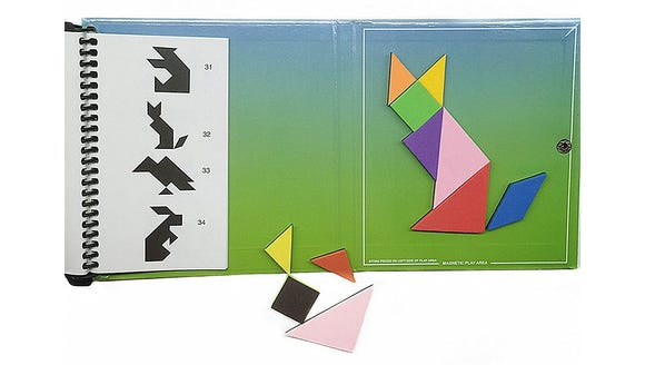 This classic geometry-based toy is a great way to teach