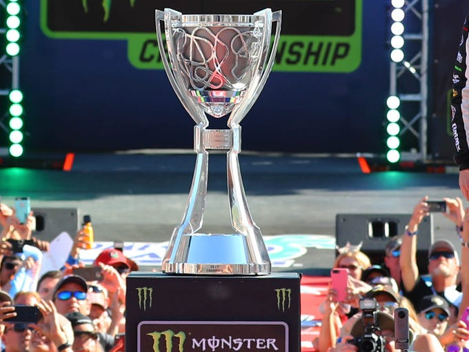 The first champion in NASCAR's premier series was crowned