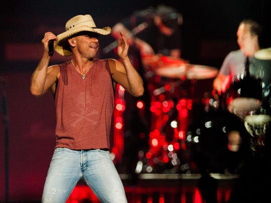 "Country music star Kenny Chesney performs during his 2013 concert at the Cajundome. Brett James, who wrote Chesney's ""We Went Out Last Night,"" will be among the composers at Live from the Writer's Room Aug. 28 at the Acadiana Center for the Arts."