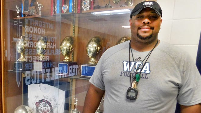 Patrick Clarkston is the new football coach at Westminster Christian Academy.