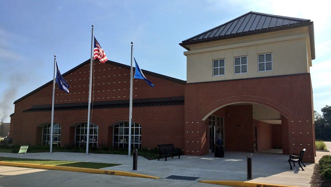 South Louisiana Community College boasts a new Evangeline campus building in St. Martinville. A ribbon-cutting was Wednesday.