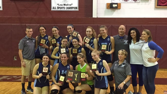 Wayne Valley topped rival Wayne Hills for its second Passaic County girls volleyball championship in three years.