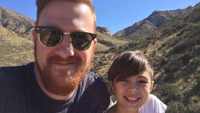 Patrick Nolan and his daughter Eva