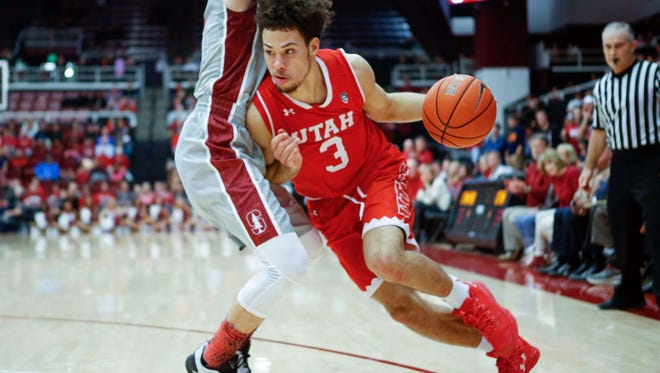 Utah Runnin' Utes guard Devon Daniels