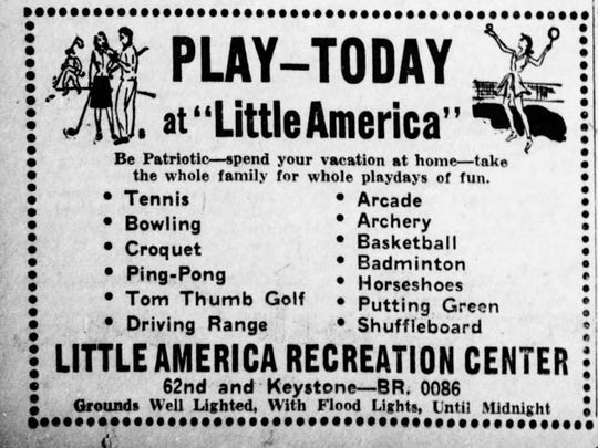Little American ad in the Indianapolis Star from 1943