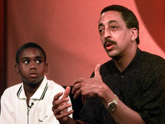 The U.S. Postal Service is honoring entertainer Gregory Hines, right, with a Black Heritage Series stamp.