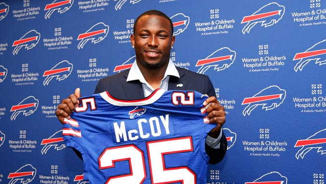 "Is Bills running back LeSean McCoy ""one of the deadliest running backs in the NFL?"" That's how an announcer described him this season."