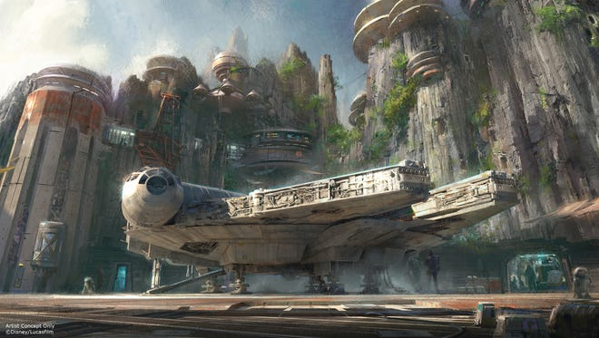 'Star Wars'-themed lands are coming to Disney Parks.