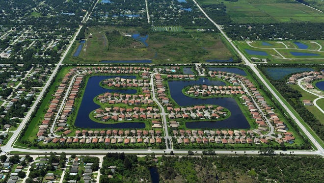 The Falcon Trace development is in southern Indian River County, east of 27th Avenue. Indian River County's preliminary tax rolls show a 7.2 percent increase overall.
