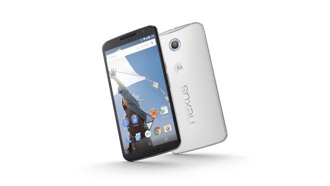 The new Nexus 6 runs Android Lollipop.
