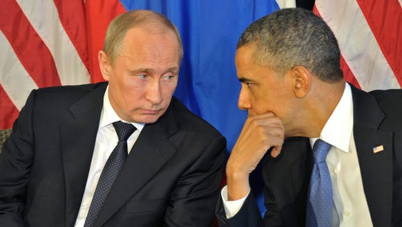 President Obama and Russian President Vladimir Putin